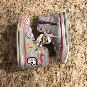 Twinkle Toes Hightop Toddler Shoes